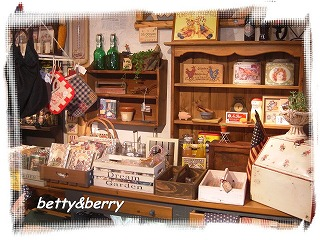 betty&berry 店内2