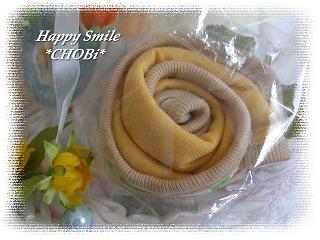 おむつケーキ・スタイの花