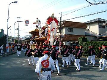 阿間ヶ瀧町地車