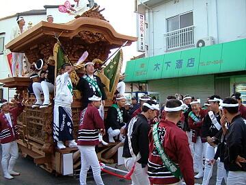 神須屋地車