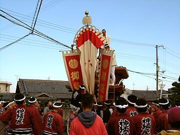 神須屋町地車