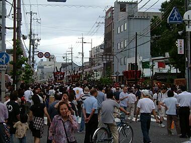 感田神社祭礼