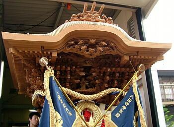 八田寺地車