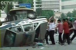 新疆ウイグル自治区で騒乱4