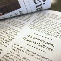ニューヨーク・タイムズ紙に掲載された三宅一生さんの寄稿