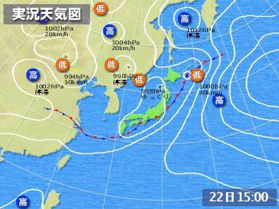 07.22天気図