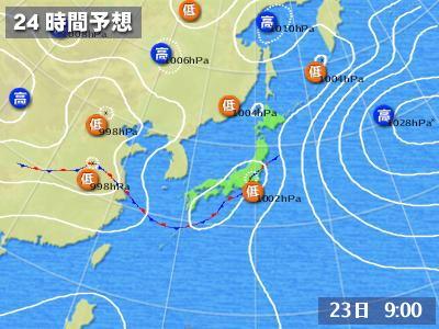 07.23予想天気図