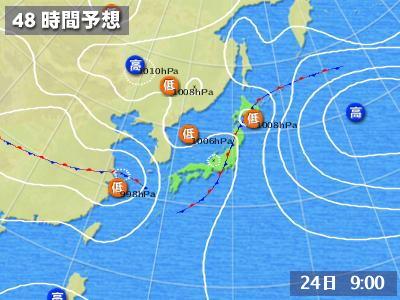 07.24予想天気図