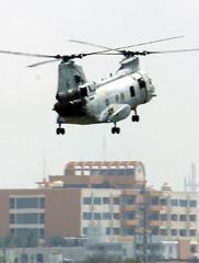 CH46中型ヘリ