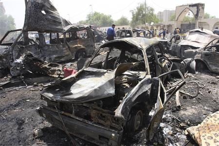 イラクで連続テロ95人死亡