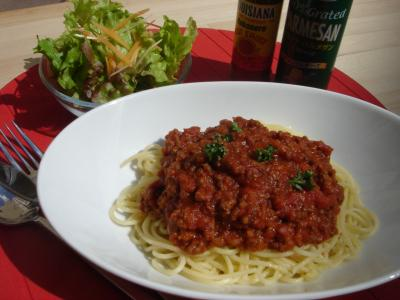 meat spaghetti