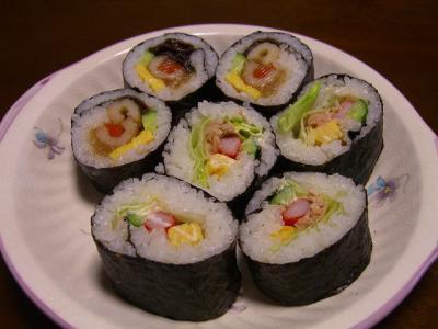 手作り巻き寿司