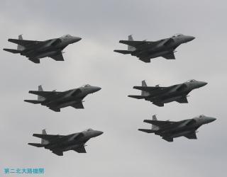 第二北大路機関 小松基地F-15編隊飛行