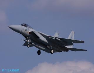 第二北大路機関 F15着陸 0207