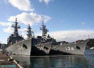 舞鶴地方隊の護衛艦 07.12.31