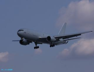 岐阜基地 KC767着陸 2020