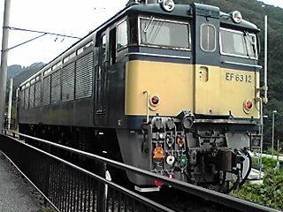 走るEF63