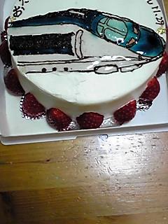 バースデーケーキ500系