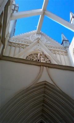 教会 青空
