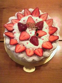 バースディケーキ!