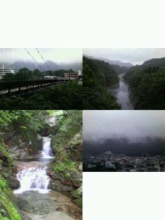 つり橋とか滝とか風景とか