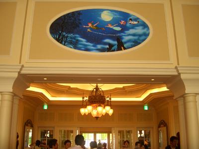 ピーターパンの壁画