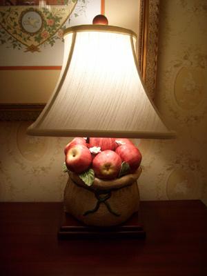 リンゴのスタンド