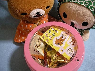 リラックマチョコレート