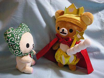 だらちゃんに王様の衣装を貸したのは・・・