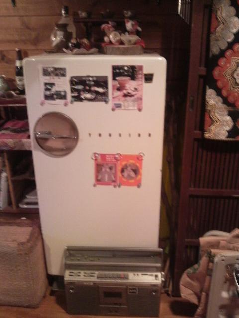 昭和初期冷蔵庫