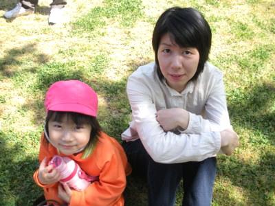 親子遠足(2009年4月18日)1
