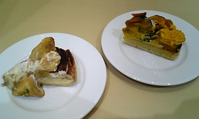 ケーキ atカフェコムサ