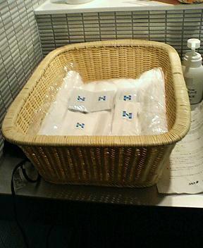 ANAラウンジのシャワールーム