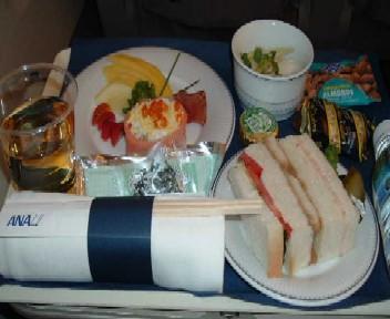 NH1292便ビジネスクラス機内食