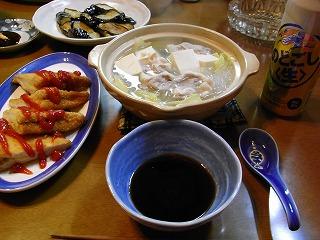 2月24日 湯豆腐
