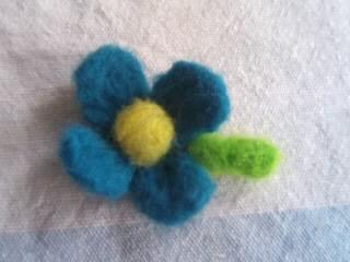花ブローチミニ