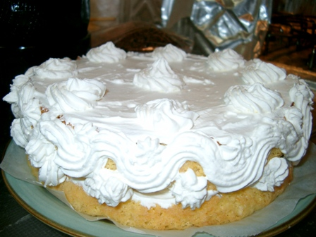 18-12 ケーキ作り クリームをぬって
