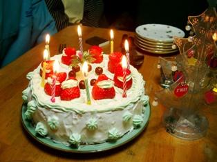 18クリスマスケーキ 1