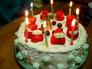 18クリスマスケーキ 2