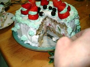 18クリスマスケーキ 3