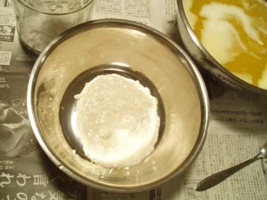 酒かす石鹸試作