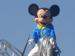 東京ディズニーランド・シンデレラブレーション・ライツオブロマンス・グランドフィナーレ・2008・パレード・ムービンオン・ミッキー