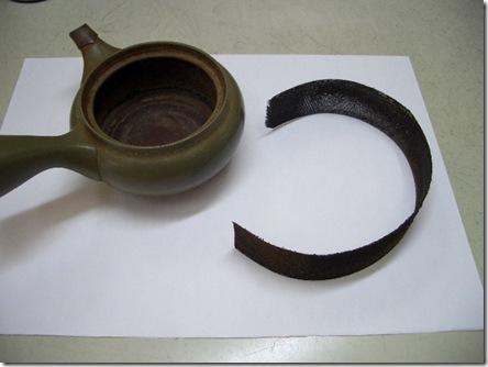 帯アミ茶漉しメンテ