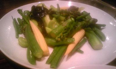 ルールブルー 野菜のバターソテー