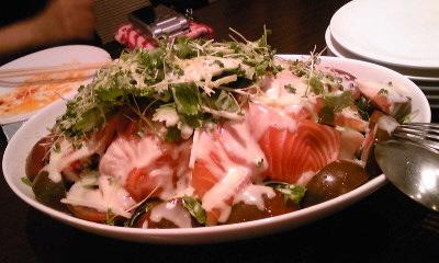 ジャンジャンブル 魚介サラダ