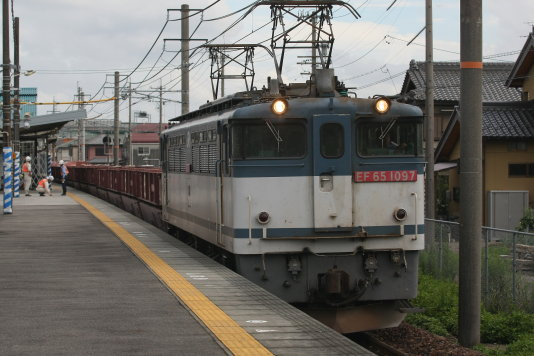 旅客PF通過~~パンタ(-_-;)