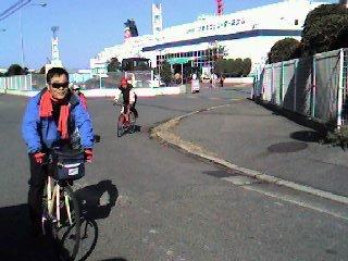 大阪南港に帰着後「北港の渡船巡り」を経て京都迄・・・。