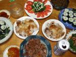 ばーちゃん誕生日料理