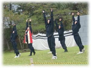 20081004合戦 忍者軍団