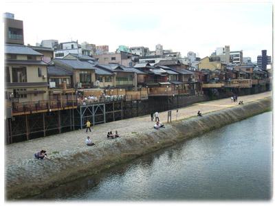 2008年6月20日 加茂川